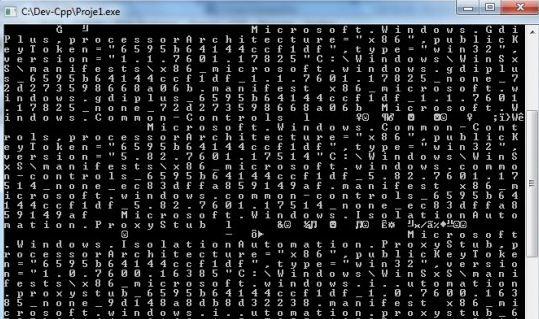 Programlama dili ile ram de kısa bir gezintiye ne dersiniz